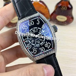 $enCountryForm.capitalKeyWord Australia - Hot Sale Luxury FM Mens Swiss 8215 Automatic Mechanical Watches Silver Diamond Case Sapphire Crystal black calfskin strap Men Sport Watch