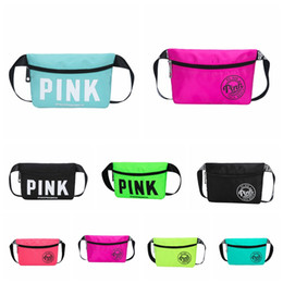 $enCountryForm.capitalKeyWord Australia - Pink Beach Travel Waist Bag Pack Fanny Collection handbag Fashion Girls Purse Bags 16 Styles VS Outdoor Bags