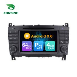 video classes NZ - Android 9.0 Core PX6 A72 Ram 4G Rom 64G Car DVD GPS Multimedia Player Car Stereo For Benz C-Class W203 CLK W209 Radio Headunit