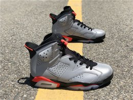 Shoe Bug NZ - 2019 Hottest Authentic 6 JSP Reflective Infrared Silver VI 6s Bugs Bunny Men Basketball Shoes CI4072-001 Sports Sneakers With Box
