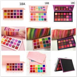 18 eye shadows Canada - Wholesale Waterproof 18 Colors Eyeshadow Matte and Shimmer Eye Shadow palettes no label Makeup Eyeshadow eye shadow Palette Make up Palettes