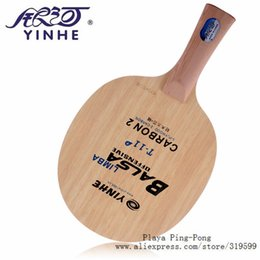 men tennis rackets UK - Cheap able Tennis Rackets Yinhe T11 T-11+ T11+ fast break loop Carbon Limba Balsa OFF Table Tennis Blade for Racket