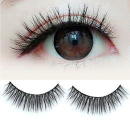 $enCountryForm.capitalKeyWord Australia - 1 Pair of Black Natural False Eyelash Soft Long Thick Makeup Eye Lash Extension Make Up Tools Hot Selling