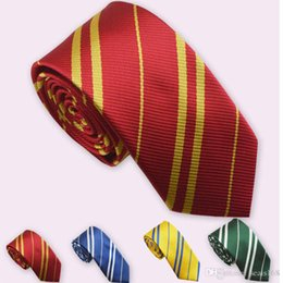 Wholesale New Arrival Kids Accessories British Style Stripe Ties College Neck Ties Children boys girls 4 Colors Accessories Tie Gifts