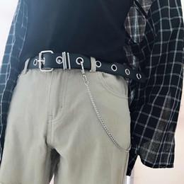 $enCountryForm.capitalKeyWord Australia - Pu Leather Harness Belts silver pin buckle Metal Waistband brown Women Leisure Jeans Chain Ladies new concave shape belt black