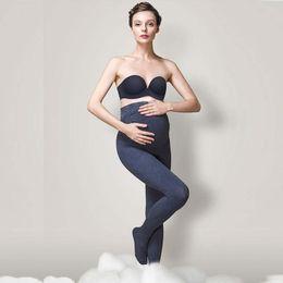 Leggings Pregnant Australia - Maternal Pantyhose Stereoscopic Bracket Socks Medium Thickness Underpants Pregnant Women Maternity Bottoms Cotton Blended Elastic Pants 58