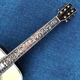 2020 nueva guitarra acústica, fideos de abeto. Rosewood parte trasera de carga en venta