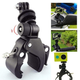 $enCountryForm.capitalKeyWord Australia - High Quality Bicycle Handlebar Camera DV DSLR Bike Clamp Bracket Tripod Mount Screw Clip For Camera DV Bicycle Bracket