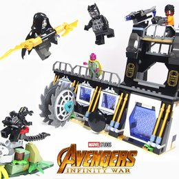 Super Blocks Australia - 466pcs Marvel Super Heroes Corvus Glaive Thresher Attack Building Block Bricks Movie Model Kids Classic Toys Compatible Legoings