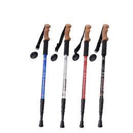 $enCountryForm.capitalKeyWord Australia - Alloy Trekking Poles Cork Handle Outdoor Walking Stick Climbing Cane Hiking Camping Supplies Old Man's Straight Crooked Crutch 18at A1