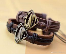 $enCountryForm.capitalKeyWord NZ - A new leather bracelet bracelet on behalf of film and television animation Superman wolf two new fashion personality leather jewelry jewelry