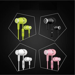 $enCountryForm.capitalKeyWord NZ - 5pcs Mobile phone headset K68 for Apple Android smart phone in-ear mobile phone headset 3.5MM interface