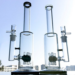 $enCountryForm.capitalKeyWord Australia - 13 Inch Sprinkler Perc Dab Rigs Heady Glass Bong Straight Tube Glass Water Pipe 5mm Thick Hookah Unique Oil Rig With Bowl WP298