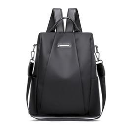 $enCountryForm.capitalKeyWord UK - Fashion Laptop Backpack Nylon Charge Computer Backpack Anti-theft Waterproof Bag for Women Oxford cloth student bag Teenage
