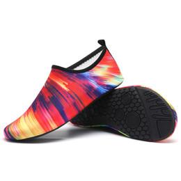 Quick Flats Australia - new Summer Couple's Quick Dry Aqua Socks Barefoot Beach Swim Yoga Flats Water shoes woman chaussures femme #3