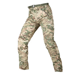 $enCountryForm.capitalKeyWord Australia - Shanghai Story Camouflage Army Detachable Tactical Pants Men Summer Quick Dry Military Pants Knee Length Lightweight Removable Trousers
