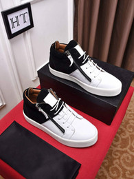 $enCountryForm.capitalKeyWord NZ - Hot Sales Fashion Brand Shoes Men Women Casual Low Top Black Leather Sports Shoes Double Zipper Flat Men Sneakers Iron Sheets Shoes 5498612