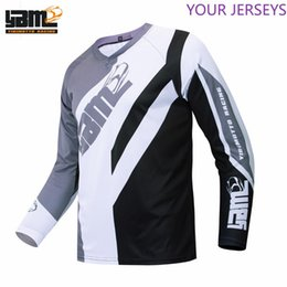 special jersey Canada - grey super special design cross jersey for man cool mountain shirt cycling bike motocross long sleeve clothing TB FXR FXR