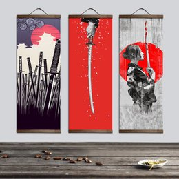 $enCountryForm.capitalKeyWord NZ - Japanese Ukiyoe For Canvas Posters And Prints Decoration Painting Wall Art Home Decor With Solid Wood Hanging Scroll Q190426