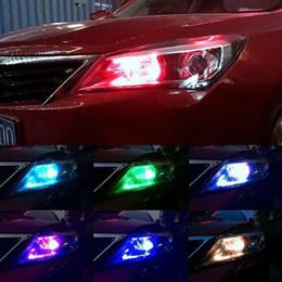 $enCountryForm.capitalKeyWord Australia - 2pcs pair T10 5050 Remote Control Car Led Bulb 6 Smd Multicolor W5w 501 Side Light Bulbs Free Shipping