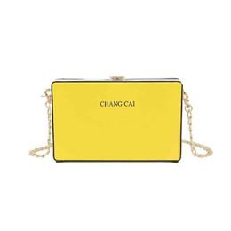 $enCountryForm.capitalKeyWord Australia - Women's Pu Fashion Casual Four Seasons Messenger Bag Solid Color Strap Chain Small Square Bag Mobile Phone Change Storage Bag