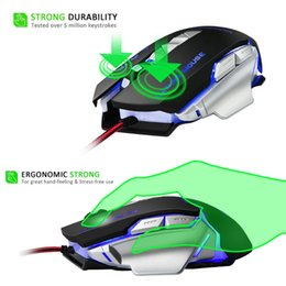 63e54b8df31 USB Wired Competitive Gaming Mouse 4800 DPI 7 Programmable Buttons  Mechanical Macro Definition Programming Game Mice