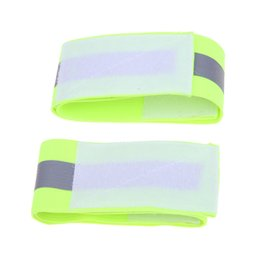 Reflective bicycle clips online shopping - Ultralight Reflective Sport Protable Bicycle Cycling Safety Leg Pants Band Clip Bicycle Gaiter Strap Bandage for Night Running