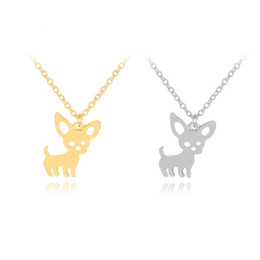 Puppy Pendants Australia - Puppy Necklace New Cute Chihuahua Pet Pendant Necklaces for Women Choker Ketting Jewelry Gifts Love My Pet Animal Dog Necklace