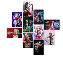 plaque art UK - 20*30cm Harley Quinn Metal Tin Signs Vintage Posters Old Wall Metal Plaque Club Wall Home art metal Painting Wall Decor Art Pictures