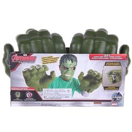 $enCountryForm.capitalKeyWord NZ - Marvel 4 Avengers Costume Accessories Iron Man Panther Hulk Cosplay Gloves Raytheon Axe Kids Game Toy Halloween Stylish Fashion Costumes