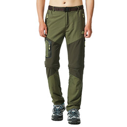 Wholesale Men Hiking Pants Outdoor Fishing Trousers Sretch Waterproof Windproof Camping Jogger Quick Dry Climing Trekking Legging
