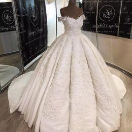 $enCountryForm.capitalKeyWord UK - 2019 Romantic Middle East Country Wedding Dresses Saudi Arabia Long Train Off Shoulders Wedding Bridal Gowns Long Train Vestido de novia