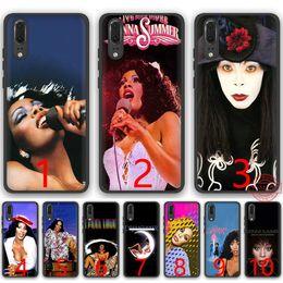 $enCountryForm.capitalKeyWord Australia - Donna Summer Soft Silicone Black TPU Phone Case for Huawei P8 P9 P10 P20 Lite Pro P Smart Cover