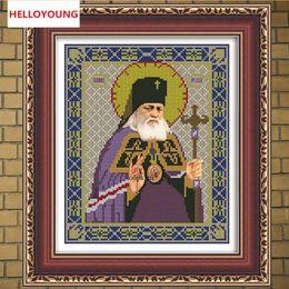 $enCountryForm.capitalKeyWord Australia - DIY 5D Diamond Painting Cross Stitch Ikons Human Series Religion Diamonds Embroidery Kits For Russia Human