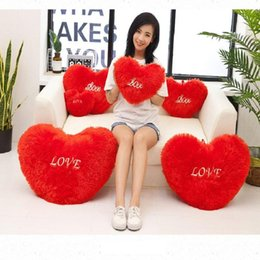 love hearts toys NZ - romantic lovely Love Heart Pillow beautiful Heart Plush toys Birthday presents To her whom I love most