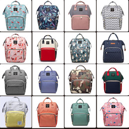 Wholesale baby backpacks online shopping - 60 styles Mummy Maternity Nappy Bag Large Capacity Baby Bag Travel Backpack Desiger Nursing Bag for Baby Care Diaper Bags mini order