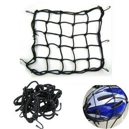Bicycling Gear Australia - Bicycle Bags Cargo Net Elastic Luggage Rope Fastened Elastic Cord Fixed hook gear set easy and durable to use#35