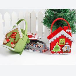 $enCountryForm.capitalKeyWord Australia - NEW Creative Christmas Tree Snowman Santa Claus Candy Bag Handbag Home Party Decoration Gift Bag Christmas Supplies