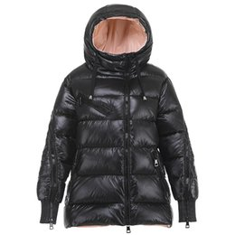 $enCountryForm.capitalKeyWord Australia - Down Jacket Korea Style 2019 New Autumn and Winter Casual Slim Long Sleeve Hooded Duck Down Jacket Female Thick Coat NS1309
