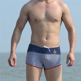 $enCountryForm.capitalKeyWord NZ - Summer Holiday New Men's Striped Swim Wear Sexy Hot Spring Swimming Quick-Drying Beach Swimming Trunks