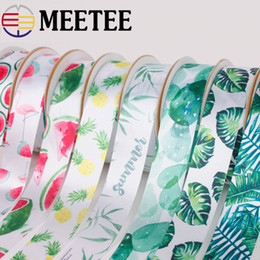 $enCountryForm.capitalKeyWord Australia - Meetee 2.5cm 5cm Summer Flower Wrap Satin Ribbon Party Home Holiday Wedding Decoration Gift Wrapping DIY Material