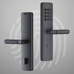 Maniglia Smart Lock Youpin Xiaoda elettronica di impronte digitali Intellgent porta con serratura Keyless digitale intelligente Serrature Disponibile per Mijia APP in Offerta