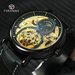 $enCountryForm.capitalKeyWord Australia - ORSINING Top Brand Luxury Skeleton Automatic Mechanical Watch Men Genuine Leather Strap Sun Moon Display Fashion Wristwatches FORSINING T...