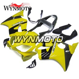 $enCountryForm.capitalKeyWord Australia - Yellow Black Silver Hot Selling Body Kits for Honda CBR600F4i 2001 2002 2003 01 02 03 ABS Plastic Injection Hull Autocycle F4i 01 03 Carenes