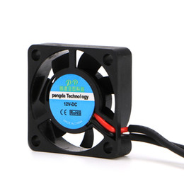 $enCountryForm.capitalKeyWord Australia - 2018 1Pc DC 5V 12V Brushless Small 2Pin 2-Wire 3007S Axial Cooler Cooling Fan 30*30*7mm Black High Quality