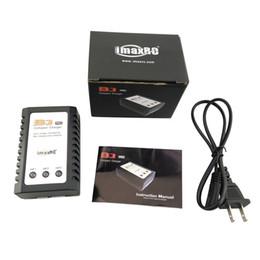 Battery Plugs Australia - 10W B3 Balancer Charger AC 110V-240V Input LED Display 2S 3S 7.4V 11.1V Lipo Battery Charging Unites (US Plug or Euro Plug)