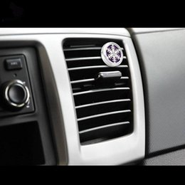 Souvenirs Auto Parfüm Clip Ätherisches Öl Diffusor Für Auto Medaillon Clip Edelstahl Auto Lufterfrischer Konditionierung Vent Clip