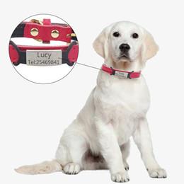 $enCountryForm.capitalKeyWord Australia - Personalized Customized Dog ID Tag Engraving Pet Cat Name Tags Pendant Nameplate Dog Collar Accessories Pet TEL Metal Custom