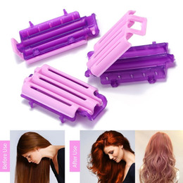 Hair Roller Rods Electric Australia - 36pcs set Plastic Magic Hair Clips Clamps Perm Rod Curlers Rollers Curling Spiral Curler Wavy Hair Maker Hair Styling Tools