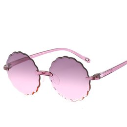 $enCountryForm.capitalKeyWord UK - Kids Sunglasses Boy Girl Frameless Cut-edged Flower Children Sunglasses Cute Eyeglasses Frame Child Eyewear Summer Beach 62002